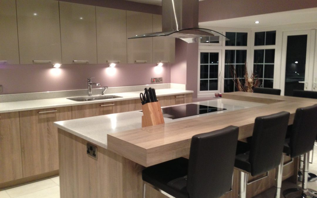 1950's Kitchen transformed into a state of the art Kitchen and Utility