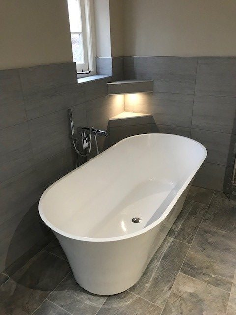 Completion of Bathroom Refurbishment